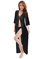 women's Long nightdress suits (skirt + t pants)