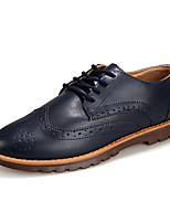 Men's Sneakers Spring / Fall Comfort PU Casual Flat Heel  Black / Blue / Brown Others