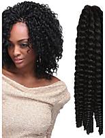 12-24 Zoll häkeln Zopf havanna mambo afro Twist Haarverlängerung 4 # mit Häkelnadel