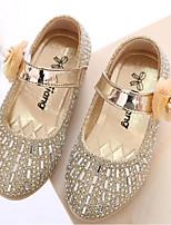 Girls' Shoes Dress Glitter Flats Summer Mary Jane Pink / Gold