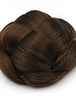 Kinky Curly Brown Europe Bride Human Hair Capless Wigs Chignons SP-130 2009