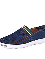 Men's Shoes Outdoor A pedal / Office & Career / Casual Tulle Loafers Blue / Gray