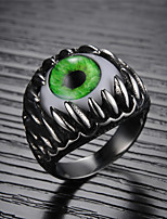 All-around Eye Evil Eye Titanium Steel Men's Ring