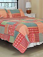 3PC Quilt Sets Full Cotton Multicolor Pattern 71