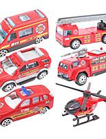 Dibang - New Children's toys slide alloy truck model toy car (6PCS)