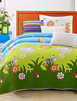 2PC Quilt Sets Full Cotton Cartoon Pattern Soft 90