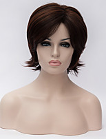 Best-selling Europe And The United States  A Wig Dark Brown Old Hair