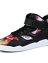Men's Shoes Outdoor / Athletic / Casual Synthetic Athletic Shoes Black / Red