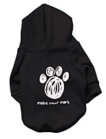 Dog Hoodie / Hoodie Simple color / Spring And Fall  Floral / Botanical Fashion