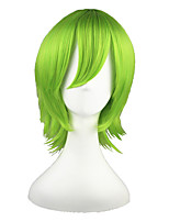 GUN DAM-Ribbons Almark Light Green 14inch Anime Cosplay Wig CS-018A