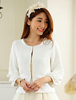 Wedding / Party/Evening Polyester Shrugs Long Sleeve Women's Wrap