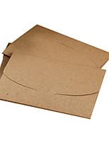 carte postale de carte de voeux enveloppe de papier kraft (10 pièces)