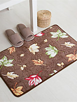 Casual Style Coral Velvet Material Non-Slip Mat W16