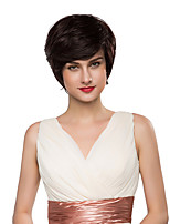 Popular Smart Layered Virgin Remy Human Hair Hand Tied -Top Woman's Emmor Wigs