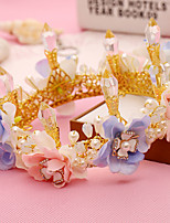 Women's Alloy / Imitation Pearl / Fabric Headpiece-Wedding / Special Occasion / Outdoor Tiaras 1 Piece