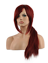 Top Quality Harajuku Anime Colorful Cosplay Wigs Young Long Curly Synthetic Hair Wig Fuxia Wigs