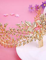 Vrouwen Licht Metaal Helm-Bruiloft / Speciale gelegenheden / Buiten Haarkammen / Bloemen 1 Stuk