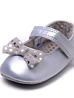 Baby Shoes Outdoor Cotton Flats Silver