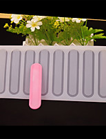 8 Hole Round Stick Shape Chocolate Plugin Mold for Cake Decoration Baking Mold Silicone Material