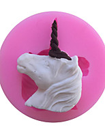 Unicorns Type Candy Fondant Cake Molds  For The Kitchen Baking Molds