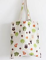 Women-Casual / Shopping-Canvas-Shoulder Bag-Green
