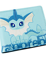 inspiré par poche petit monstre Vaporeon pu portefeuille en cuir