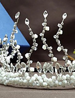 Damen / Blumenmädchen Strass / Kristall / Messing / Künstliche Perle Kopfschmuck-Hochzeit / Besondere Anlässe / Freizeit / im Freien Tiara