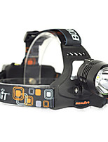 BORUIT 2500LM XM-L2 LED 18650 Headlight Headlamp Head Torch USB Lamp