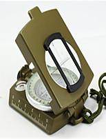 Compasses Convenient / Pocket Hiking / Camping / Travel / Outdoor Alloy Metal Green