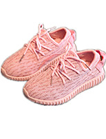 Childrens' Shoes Athletic / Casual Tulle Fashion Sneakers Pink / Purple / Gray