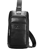 X.BNJ Men Shouder Bags Top Grade Genuine Leather Men Business Bag Vintage First Layer Cowhide Messenger Waist Bag
