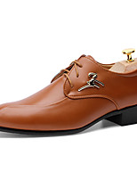 Men's Shoes PU Wedding / Office & Career / Casual / Party & Evening Oxfords Wedding / Office & Career / Casual / Party & Evening Flat Heel