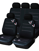Universal Fit for Car, Truck, Suv, or Van Polyester Car Seat Cover Full Set Full Seat Cover Set (14 Pieces)