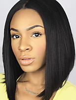 HOT!! Brazilian Virgin Hair Full Lace Wigs Human Hair Wigs for Black Women 8