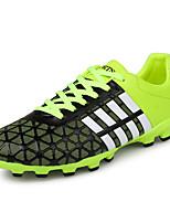 Sapatos Futebol Masculino Azul / Verde / Vermelho Couro Ecológico