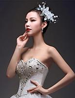 Femme Tulle / Tissu Casque-Mariage / Occasion spéciale Fleurs / Pique cheveux 1 Pièce