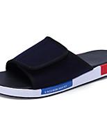 Zapatos de Hombre-Sandalias-Casual-Tejido-Azul
