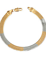 The New Fahion Men's Alloy / Party / Wedding / Casual / Fashion / Bracelets 8mm