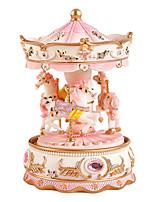 abs pink / lila / blau kreative romantische Musik-Box für Geschenk