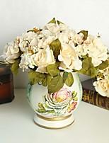 Seda / Poliestireno Rosas Flores Artificiales