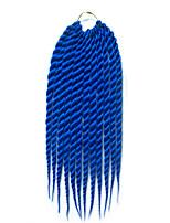 blue Havana Twist Braids Hair Extensions 12 14 16 18 20 22 24 Kanekalon 12 Strand 120 gram Hair Braids