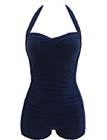 Lolita classica e tradizionale Smanicato N/D Blu inchiostro Terylene Lolita Dress