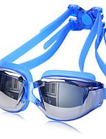 ZHENYA Unisex Swimming Goggles Gray / Black / Blue Anti-Fog / Waterproof / Adjustable Size / Anti-UV PC / UV Silica Gel