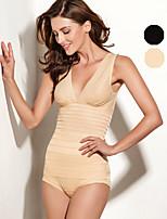 ONICE® Poliestere Set corsetti Nero / Pelle-ANS-2281
