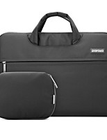 POFOKO® 11.6/13.3/15.4 Inch Laptop Sleeve Notebook Bag Black/Gray