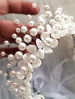 Femme Laiton / Imitation de perle Casque-Mariage / Occasion spéciale / Extérieur Tiare 1 Pièce