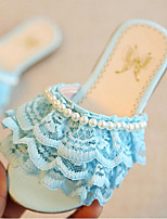 Girls' Shoes Dress Slippers Sandals Blue / Pink / White