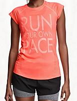 Mujer Carrera Tops Running Capilaridad / Compresión Otros Otros Ropa deportiva
