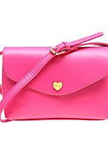 Men-Formal / Casual / Outdoor / Office & Career / Shopping-PU-Shoulder Bag-White / Purple / Blue / Red / Black / Fuchsia