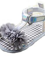 Chaussures bébé-Gris-Extérieure-Coton-Sandales